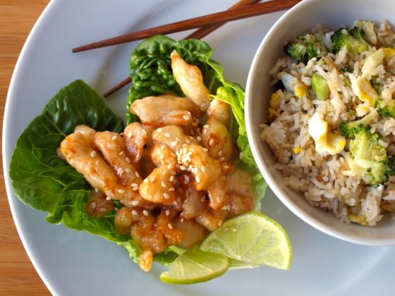 Lemon chicken Cantonese Style recipe