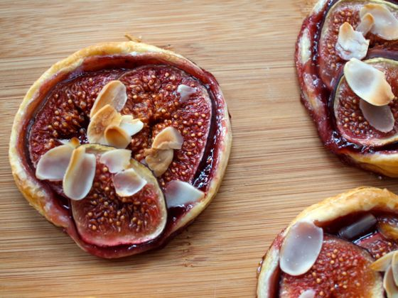 fig and rasperry tart recipe