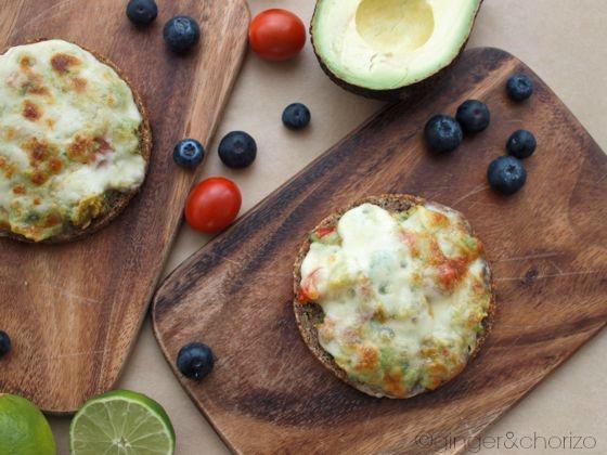 Grilled avocado tartine recipe
