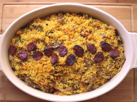 Arroz de Pato – Portuguese Duck Rice recipe