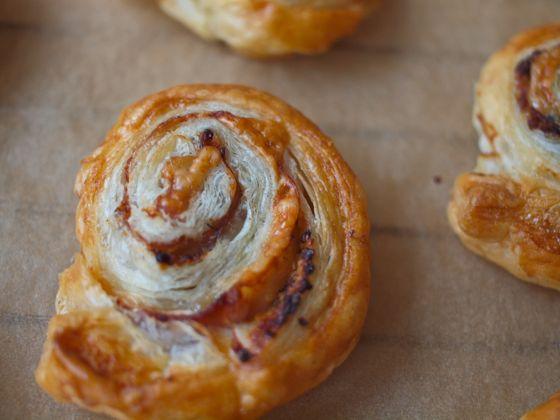 Prociutto cheese swirl recipe