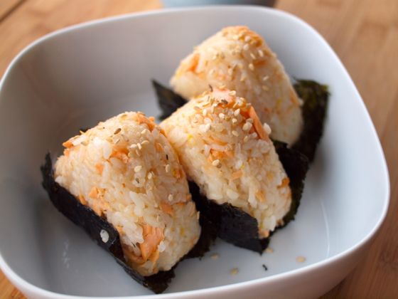 Salmon Onigiri recipe