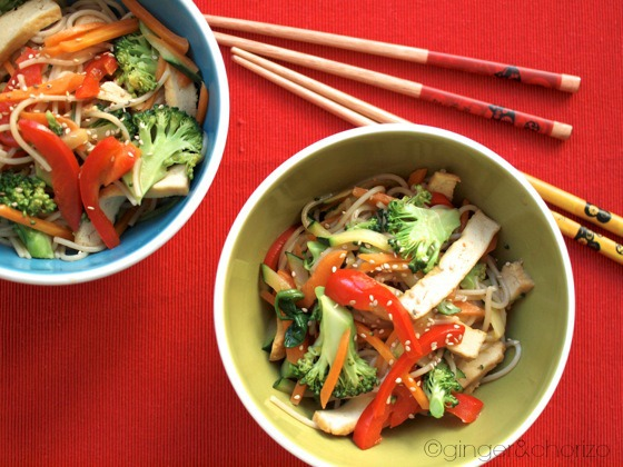 vegetable noodle bowl recipe