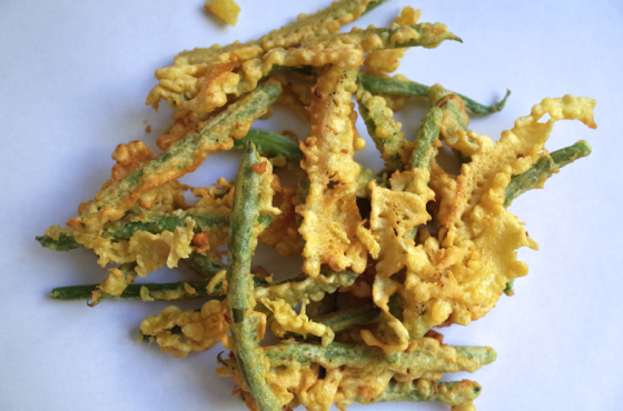 Fried green beans -Peixinhos da Horta recipe