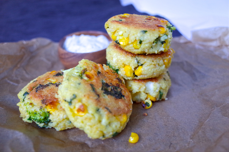 millet patties recipe