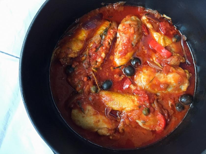 Chicken Puttanesca recipe