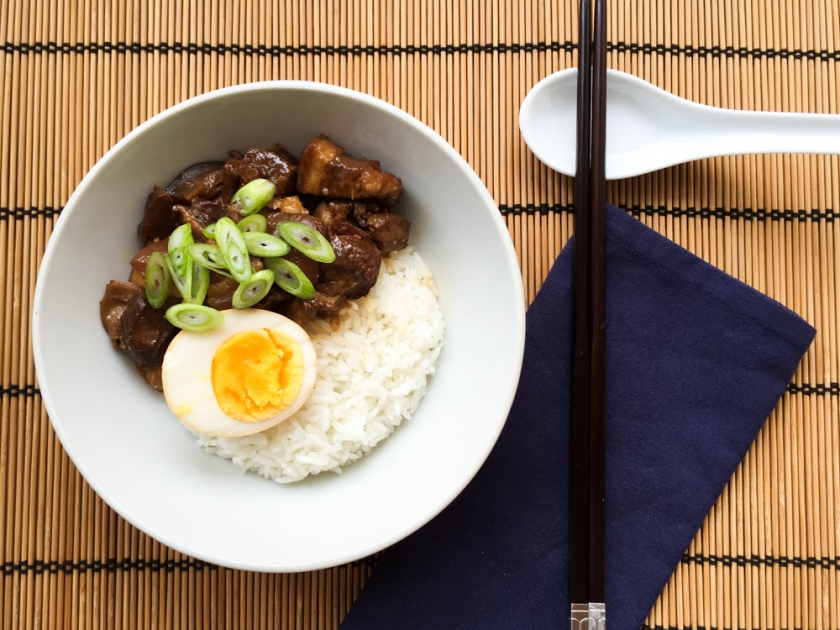 taiwanese braised pork rice recipe