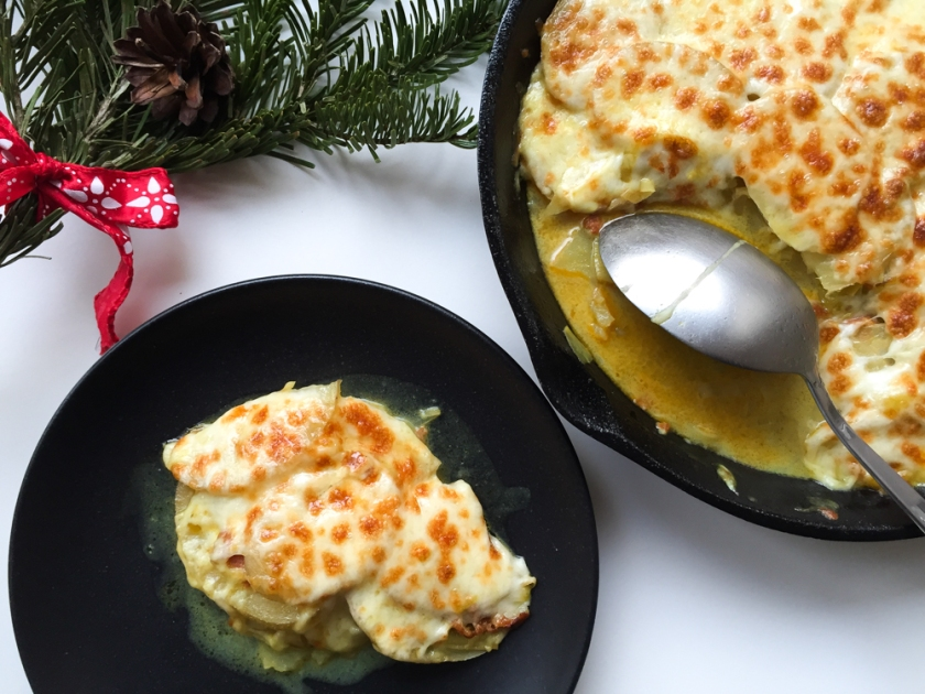 Chorizo, Leeks and Potato Gratin Recipe