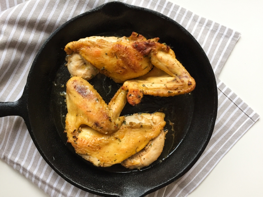 Grilled Lemongrass Chicken Lettuce Wraps recipe