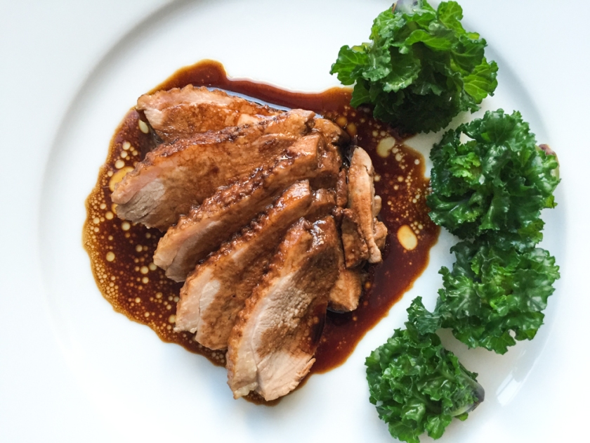 soy poached duck breast recipe - Christmas Duck