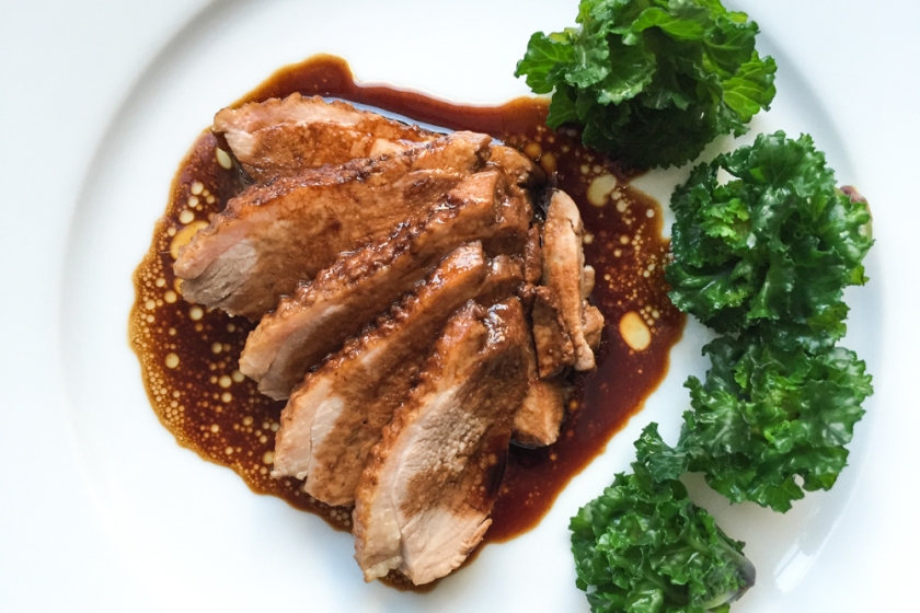 Simple Last Minute Christmas Recipe – Soy Poached Duck Breast