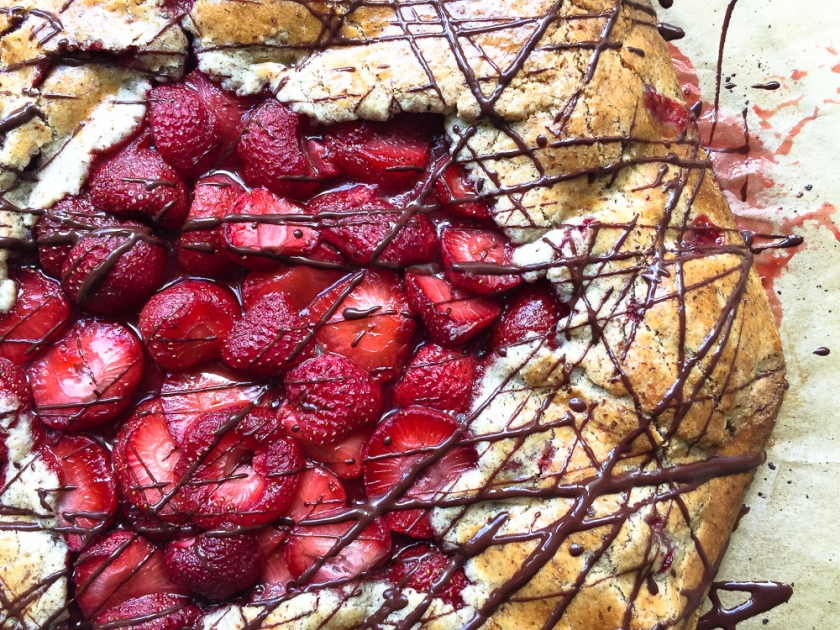 Maple Strawberry Galette recipe