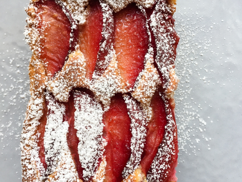 Gluten Free Almond Plum Cake recipe