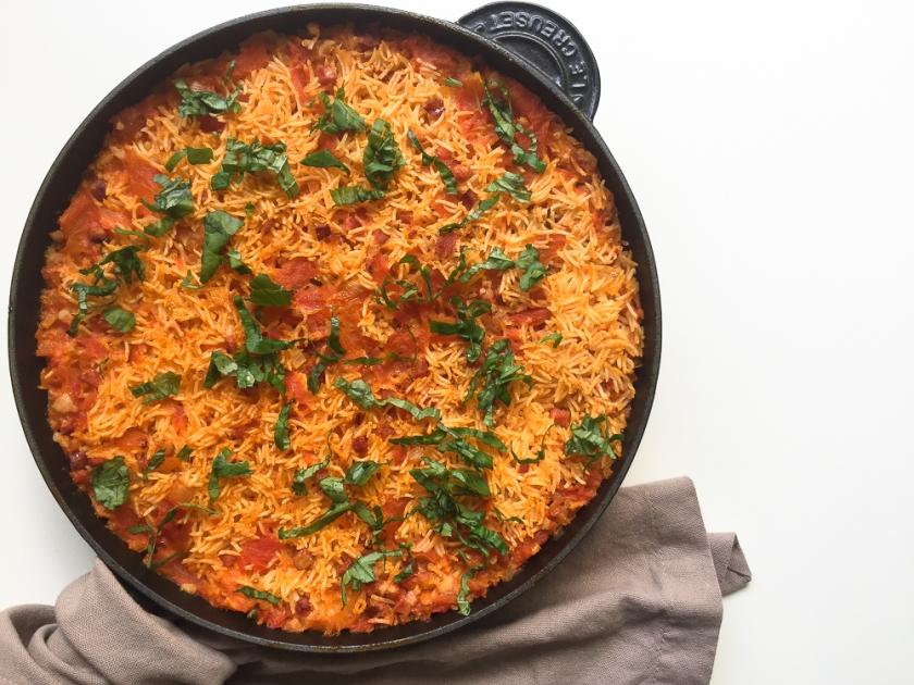 Portuguese Tomato Rice (Arroz de Tomate) recipe