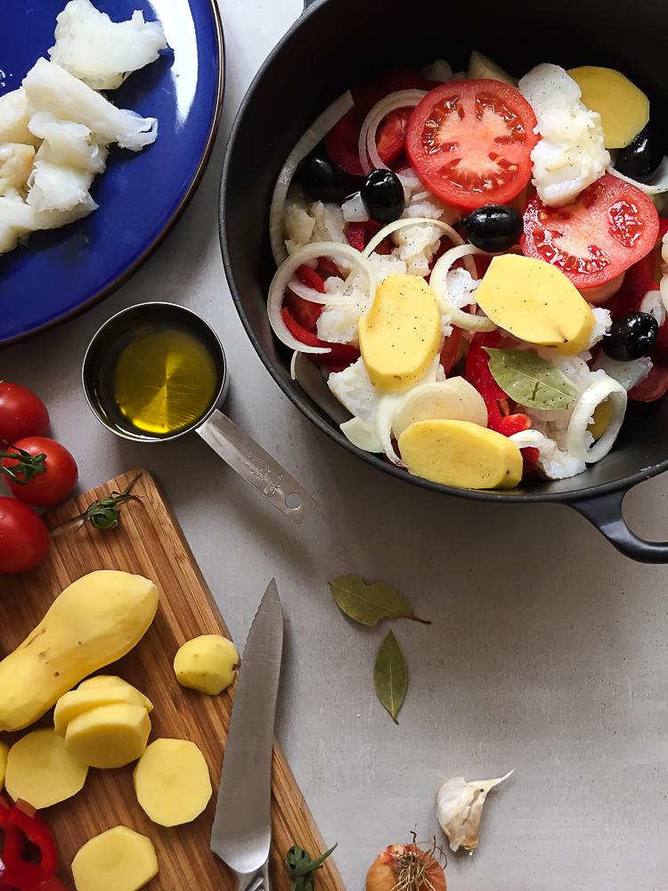 Bacalhau Guisado - Salted Cod Stew Recipe