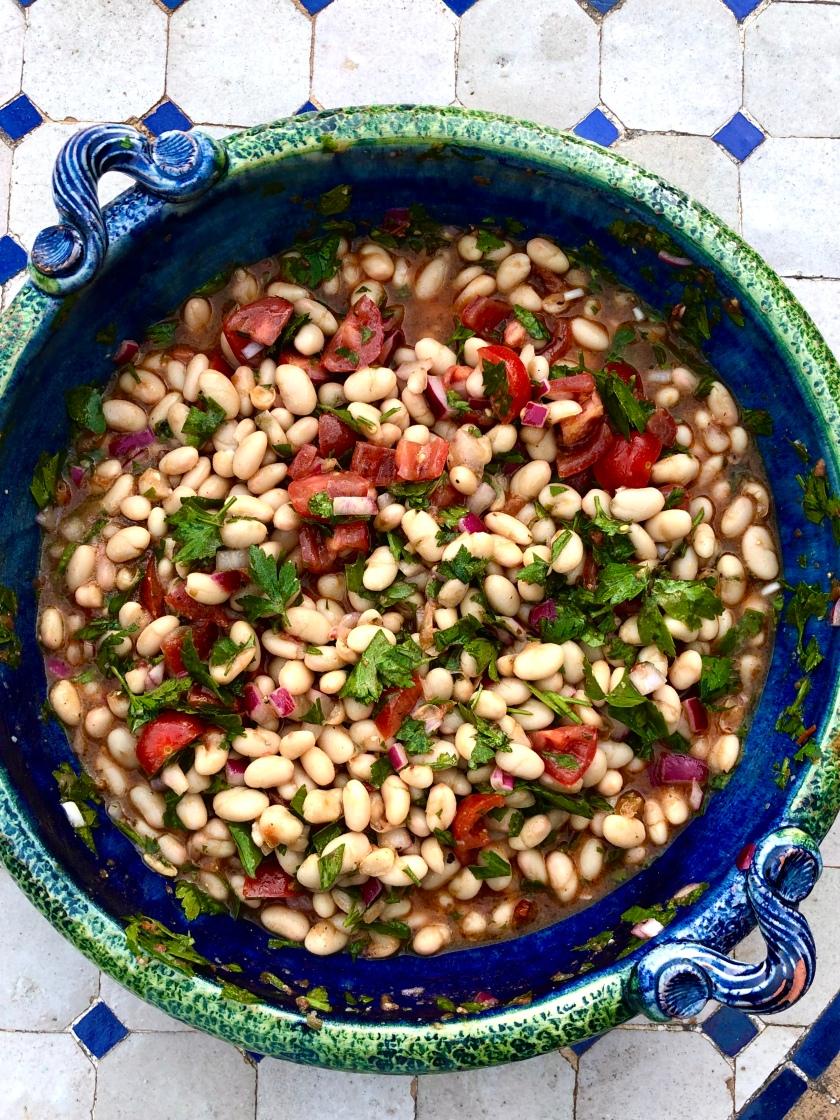 holiday white bean salad recipe